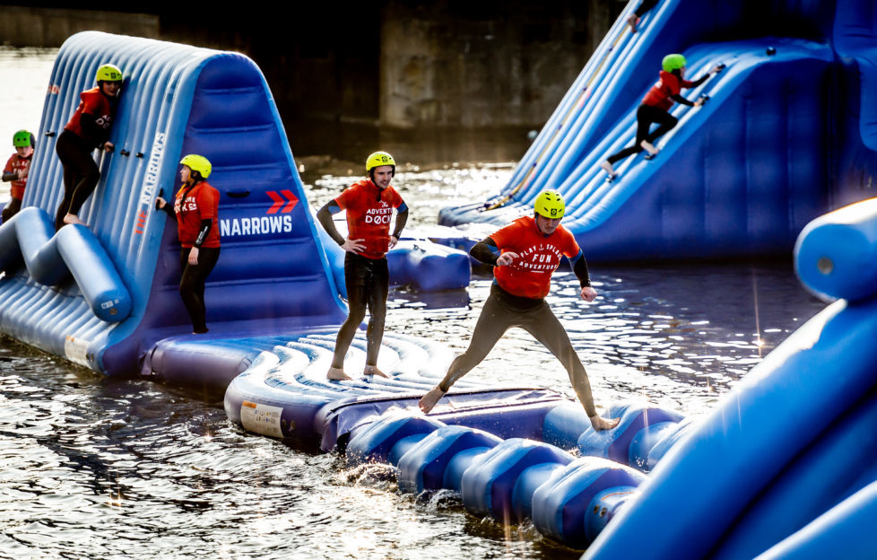 Fans Of Total Wipeout Will Love Dundee S New Aqua Park